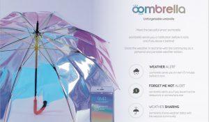 Parapluie connecte
