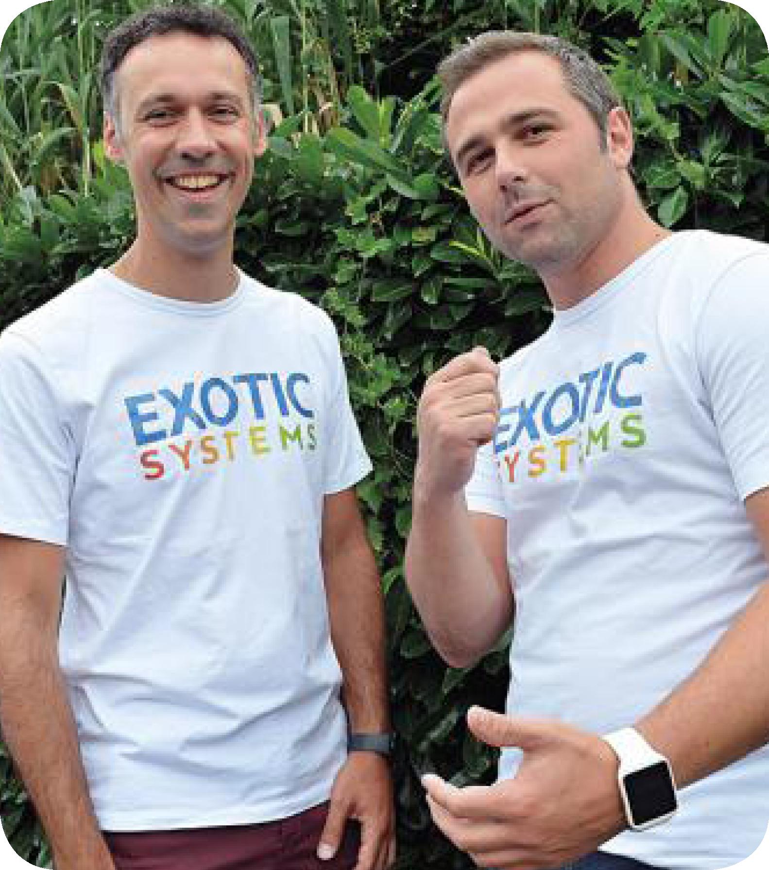 Julien Coudon et Laurent Gineste EXOTIC SYSTEMS